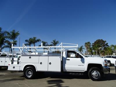 2018 Silverado 3500 Regular Cab DRW 4x2,  Royal Combo Service Bodies Combo Body #180812 - photo 3