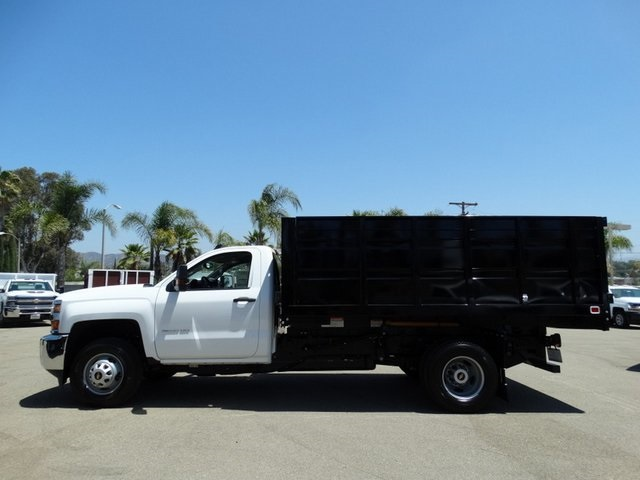 2018 Silverado 3500 Regular Cab DRW 4x2,  Knapheide Landscape Dump #181662 - photo 3