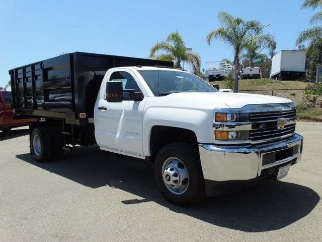 2018 Silverado 3500 Regular Cab DRW 4x2,  Knapheide Landscape Dump #181662 - photo 6