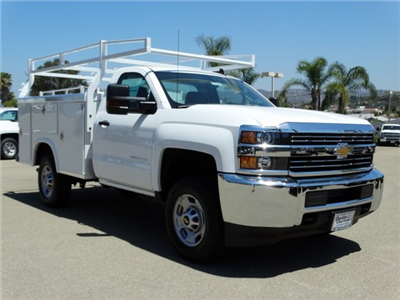 2018 Silverado 2500 Regular Cab 4x2,  Royal Service Body #181728 - photo 6