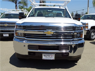 2018 Silverado 2500 Regular Cab 4x2,  Harbor TradeMaster Service Body #181885 - photo 6