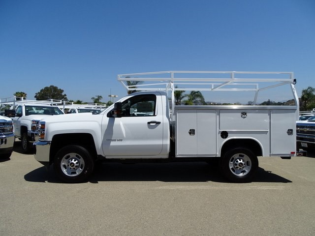 2018 Silverado 2500 Regular Cab 4x2,  Harbor TradeMaster Service Body #181926 - photo 3