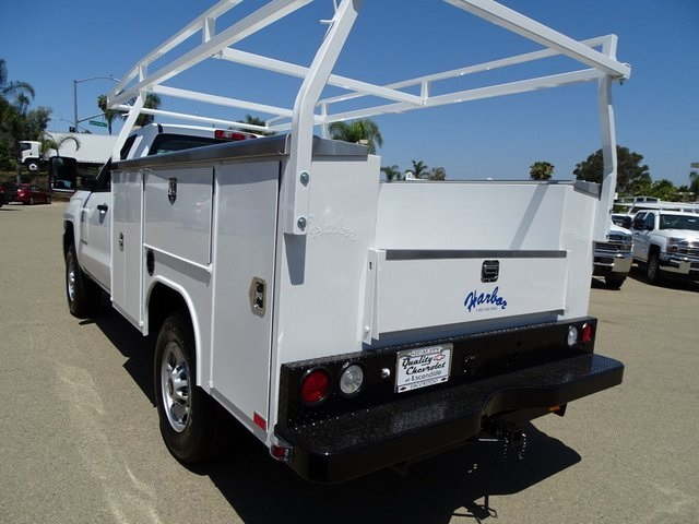 2018 Silverado 2500 Regular Cab 4x2,  Harbor TradeMaster Service Body #181926 - photo 2