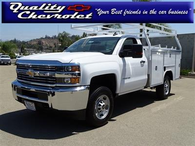 2018 Silverado 2500 Regular Cab 4x2,  Harbor TradeMaster Service Body #181926 - photo 1