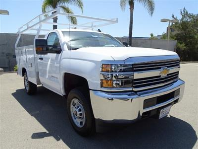 2018 Silverado 2500 Regular Cab 4x2,  Harbor TradeMaster Service Body #181926 - photo 6
