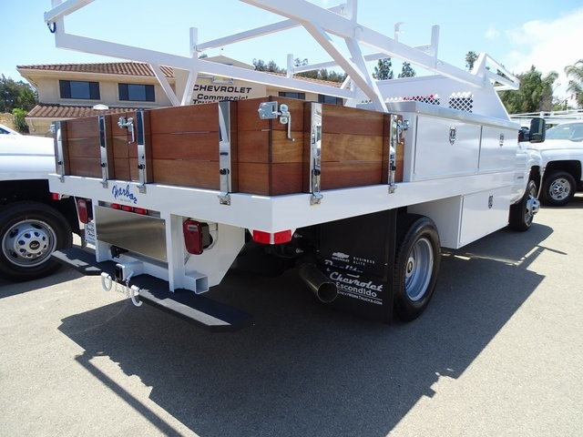 2018 Silverado 3500 Regular Cab DRW 4x2,  Harbor Contractor Body #181991 - photo 5