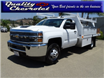 2018 Silverado 3500 Regular Cab DRW 4x2,  Harbor Contractor Body #181991 - photo 1