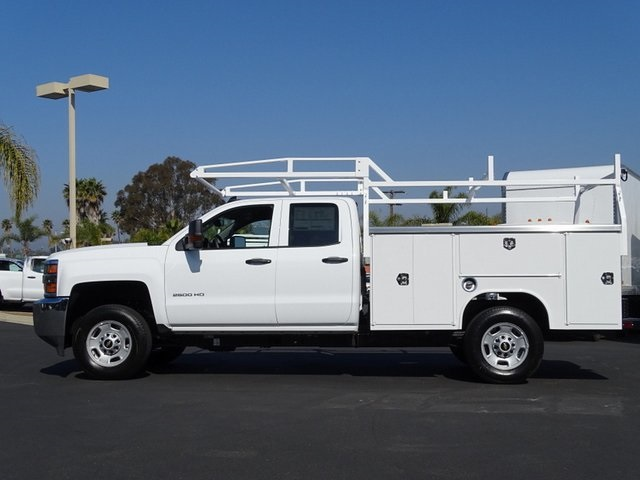 2019 Silverado 2500 Double Cab 4x2, Harbor TradeMaster Service Body #192020 - photo 3