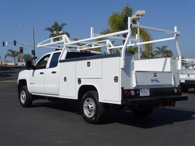 2019 Silverado 2500 Double Cab 4x2, Harbor TradeMaster Service Body #192020 - photo 2