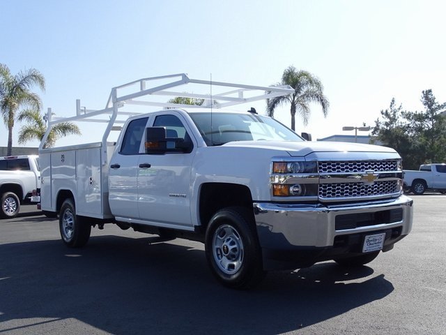 2019 Silverado 2500 Double Cab 4x2, Harbor TradeMaster Service Body #192020 - photo 6