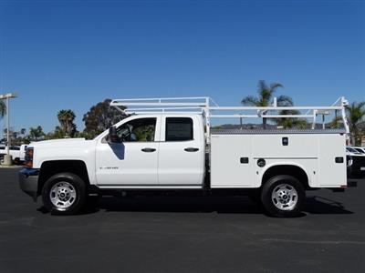 2019 Silverado 2500 Double Cab 4x2, Knapheide Steel Service Body #192024 - photo 3