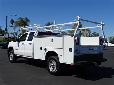 2019 Silverado 2500 Double Cab 4x2, Knapheide Steel Service Body #192024 - photo 2