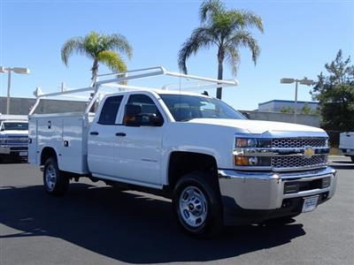 2019 Silverado 2500 Double Cab 4x2, Knapheide Steel Service Body #192024 - photo 6