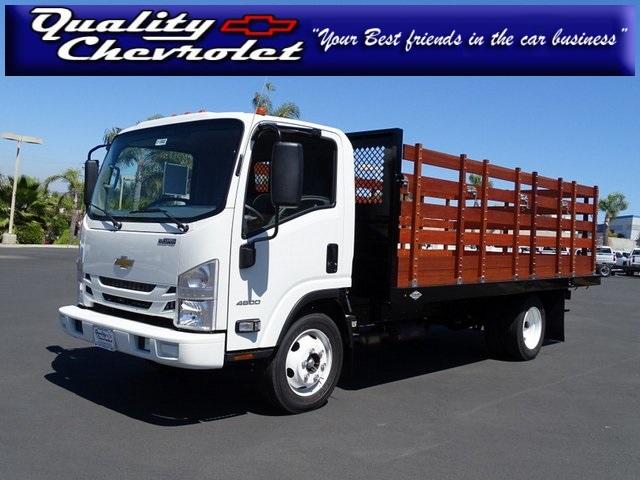2020 Chevrolet LCF 4500 Regular Cab 4x2, Custom Truck Body & Equipment Stake Bed #201002 - photo 1