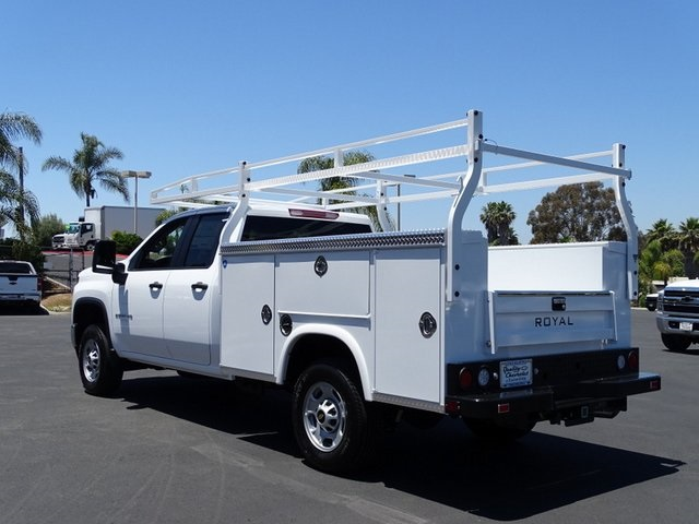 2020 Chevrolet Silverado 2500 Double Cab 4x2, Royal Service Body #201188 - photo 2