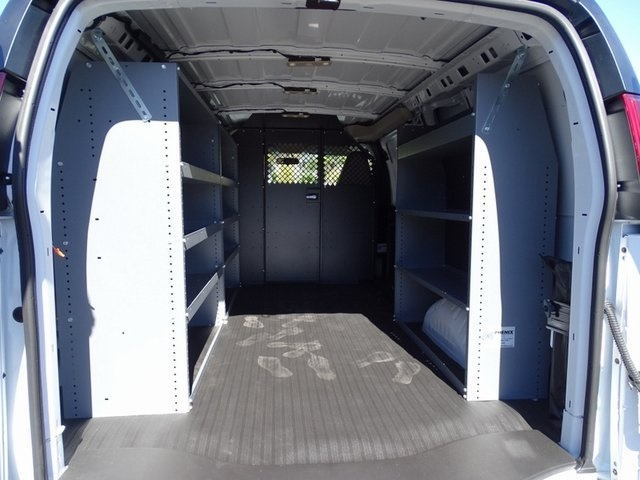 2020 Chevrolet Express 2500 4x2, Masterack Upfitted Cargo Van #201886 - photo 2