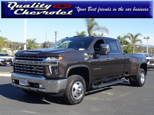 2021 Chevrolet Silverado 3500 Crew Cab 4x4, Pickup #210807 - photo 1