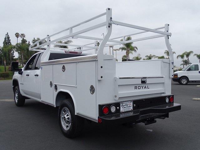 2021 Chevrolet Silverado 2500 Double Cab 4x2, Royal Truck Body Service Body #211318 - photo 1