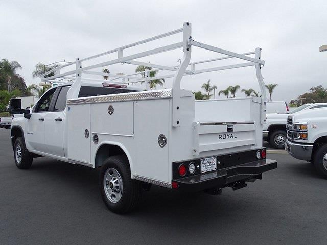 2021 Chevrolet Silverado 2500 Double Cab 4x2, Royal Truck Body Service Body #211319 - photo 1