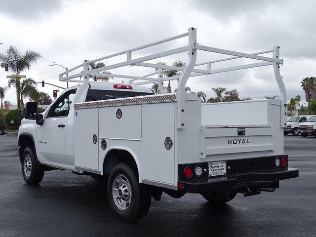 2021 Chevrolet Silverado 2500 Regular Cab 4x2, Royal Truck Body Service Body #211384 - photo 1