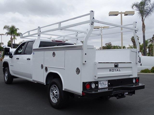 2021 Chevrolet Silverado 2500 Crew Cab 4x2, Royal Truck Body Service Body #211386 - photo 1