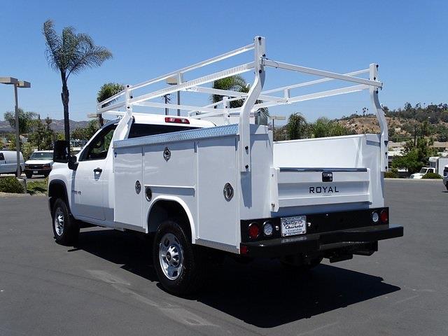 2021 Chevrolet Silverado 2500 Regular Cab 4x2, Royal Truck Body Service Body #211656 - photo 1