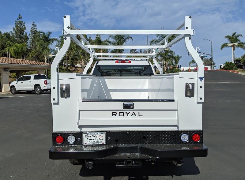 2021 Silverado 2500 Regular Cab 4x2, Royal Service Body with MasterLock #211856 - photo 5