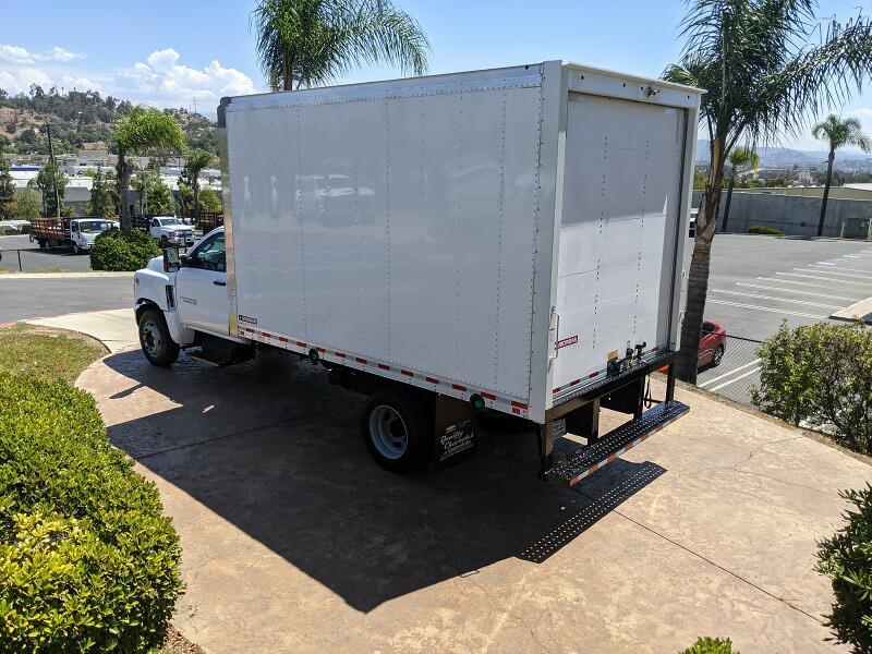 2021 Silverado 6500 Regular Cab DRW 4x2,  Morgan Truck Body Gold Star Dry Freight #211962 - photo 3