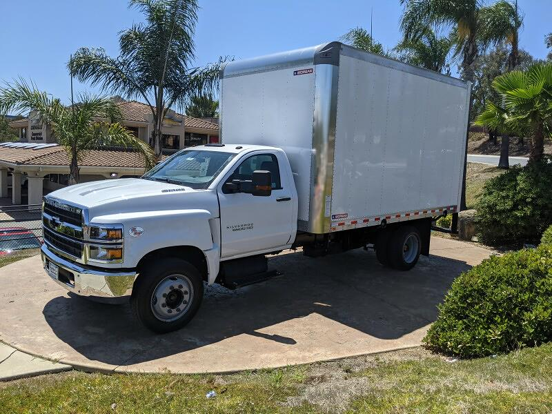 2021 Silverado 6500 Regular Cab DRW 4x2,  Morgan Truck Body Gold Star Dry Freight #211962 - photo 4