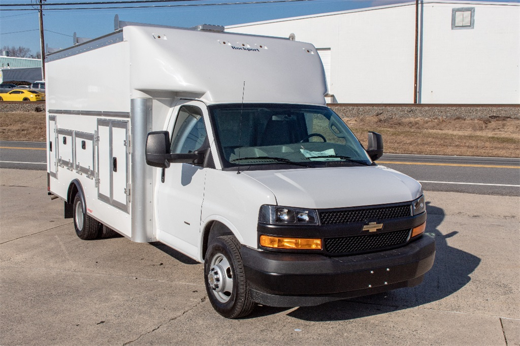 2018 Express 3500 4x2,  Rockport Service Utility Van #FK3422 - photo 8