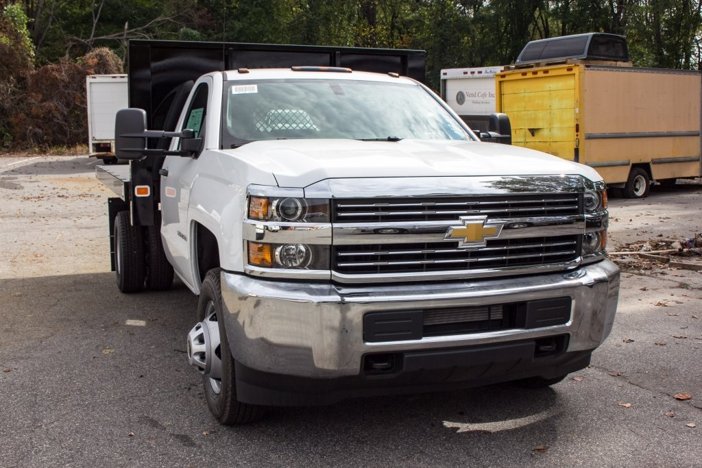 2017 Silverado 3500 Regular Cab DRW 4x4,  Knapheide Platform Body #FK3649 - photo 5