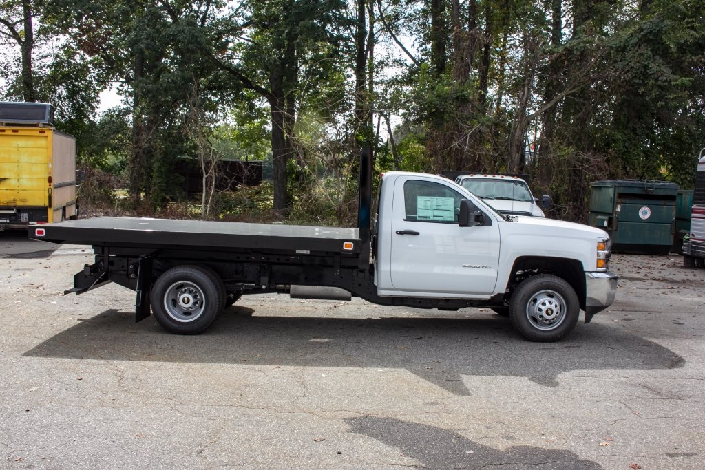 2017 Silverado 3500 Regular Cab DRW 4x4,  Knapheide Platform Body #FK3649 - photo 6