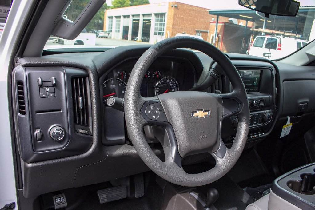 2017 Silverado 3500 Regular Cab DRW 4x4,  Knapheide Platform Body #FK3649 - photo 9