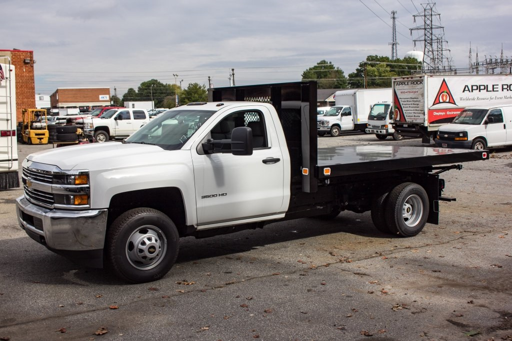 2017 Silverado 3500 Regular Cab DRW 4x4,  Knapheide Platform Body #FK3649 - photo 20