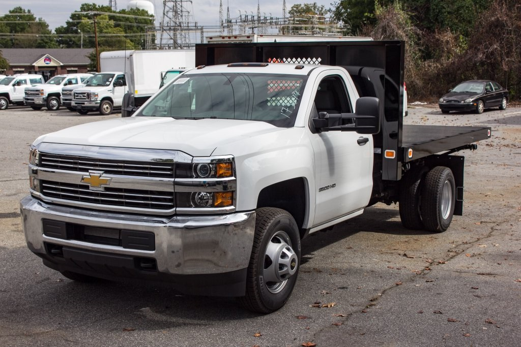 2017 Silverado 3500 Regular Cab DRW 4x4,  Knapheide Platform Body #FK3649 - photo 21