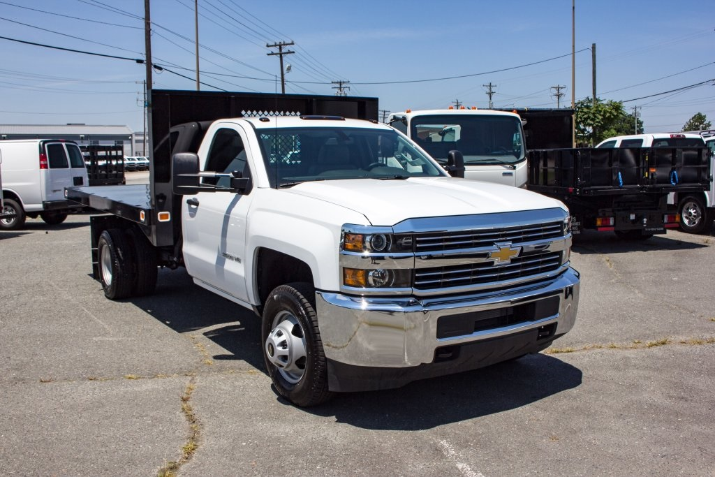 2017 Silverado 3500 Regular Cab DRW 4x4,  Knapheide Value-Master X Platform Body #FK3991 - photo 1