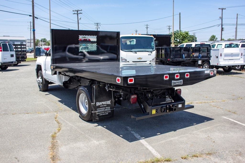 2017 Silverado 3500 Regular Cab DRW 4x4,  Knapheide Value-Master X Platform Body #FK3991 - photo 10