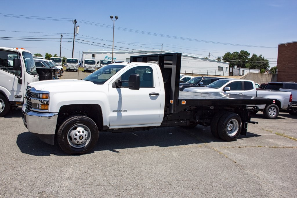 2017 Silverado 3500 Regular Cab DRW 4x4,  Knapheide Value-Master X Platform Body #FK3991 - photo 12