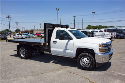 2017 Silverado 3500 Regular Cab DRW 4x4,  Knapheide Value-Master X Platform Body #FK3991 - photo 3