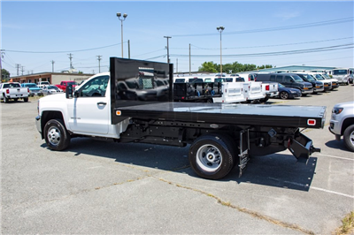 2017 Silverado 3500 Regular Cab DRW 4x4,  Knapheide Value-Master X Platform Body #FK3991 - photo 11