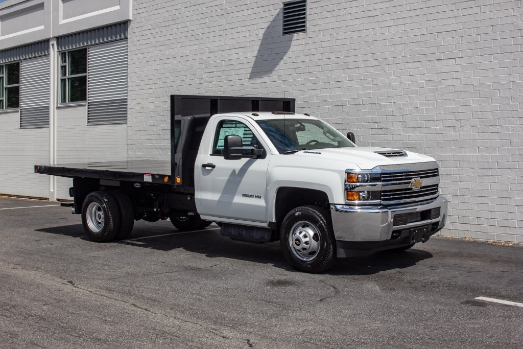 2018 Silverado 3500 Regular Cab DRW 4x2,  Freedom Platform Body #FK5706 - photo 10
