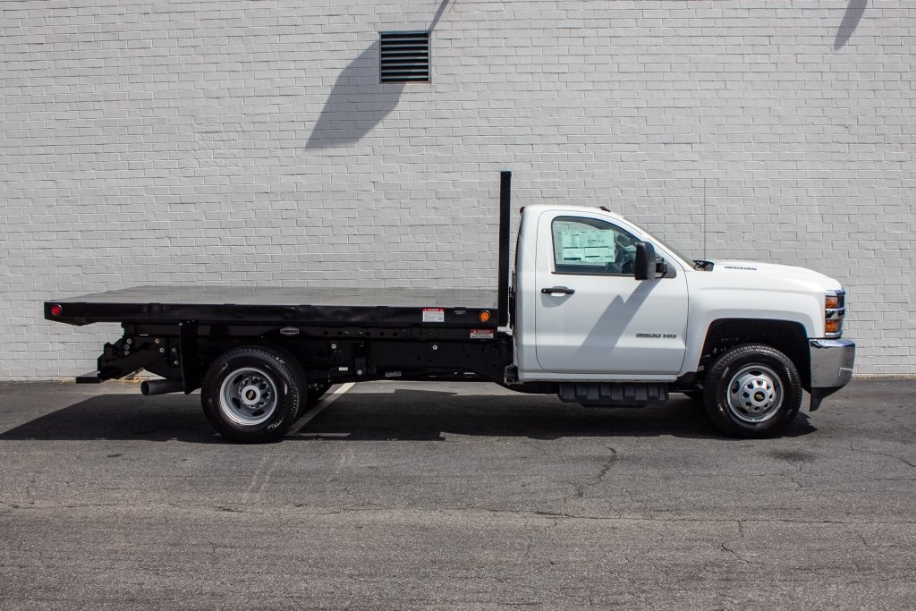 2018 Silverado 3500 Regular Cab DRW 4x2,  Freedom Platform Body #FK5706 - photo 9