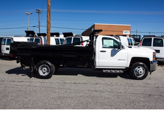 2017 Silverado 3500 Regular Cab DRW 4x2,  Knapheide Dump Body #FK5778 - photo 5