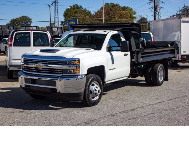 2017 Silverado 3500 Regular Cab DRW 4x2,  Knapheide Dump Body #FK5778 - photo 17