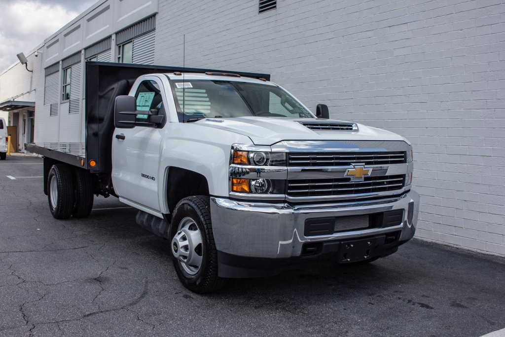 2018 Silverado 3500 Regular Cab DRW 4x2,  Monroe Platform Body #FK6007 - photo 10