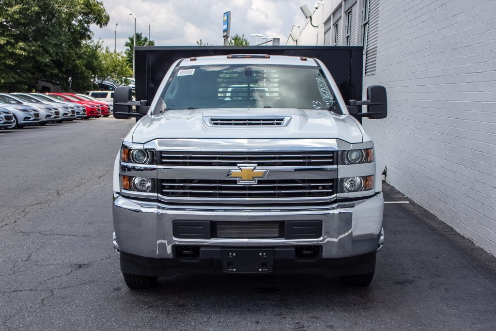 2018 Silverado 3500 Regular Cab DRW 4x2,  Monroe Platform Body #FK6007 - photo 11
