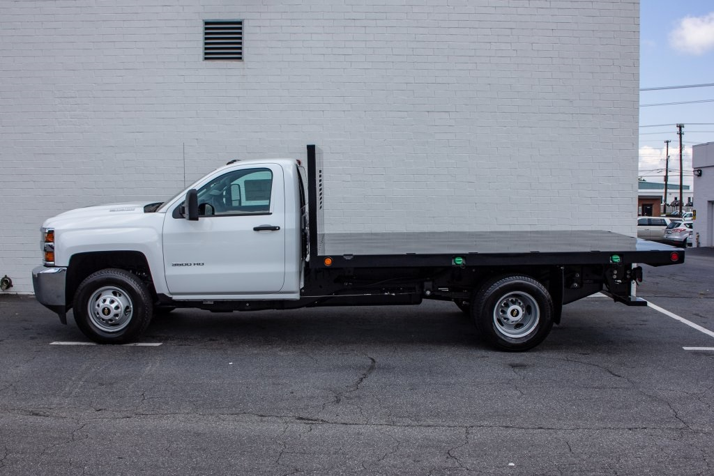 2018 Silverado 3500 Regular Cab DRW 4x2,  Monroe Platform Body #FK6007 - photo 6