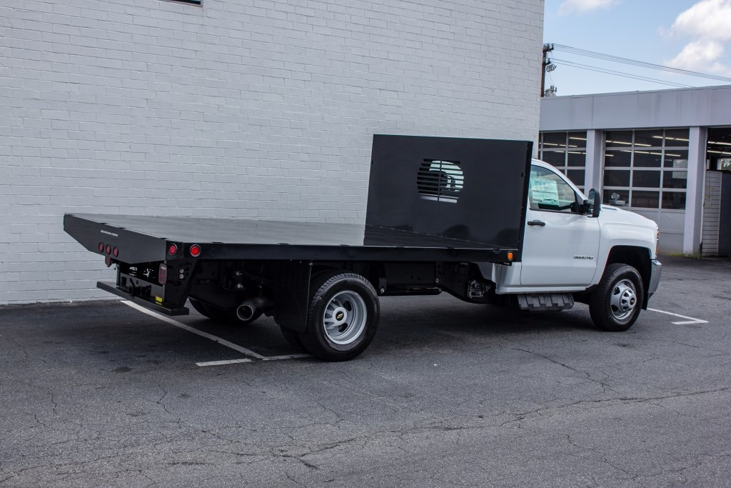 2018 Silverado 3500 Regular Cab DRW 4x2,  Monroe Platform Body #FK6007 - photo 7
