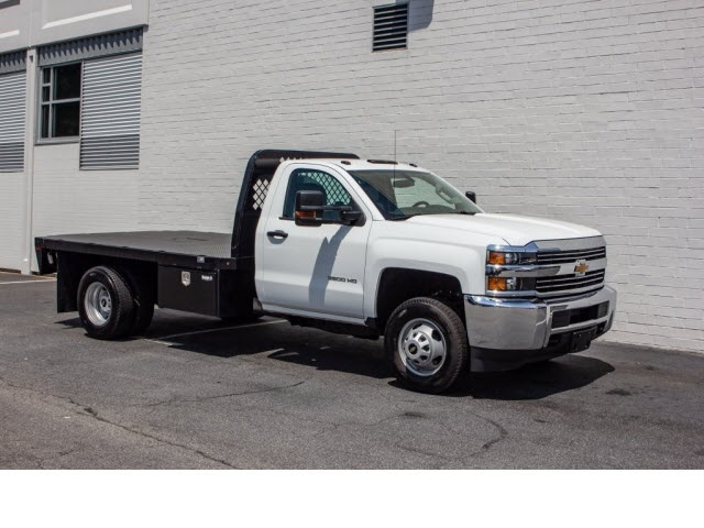 2017 Silverado 3500 Regular Cab DRW 4x2,  Knapheide Platform Body #FK7663X - photo 10