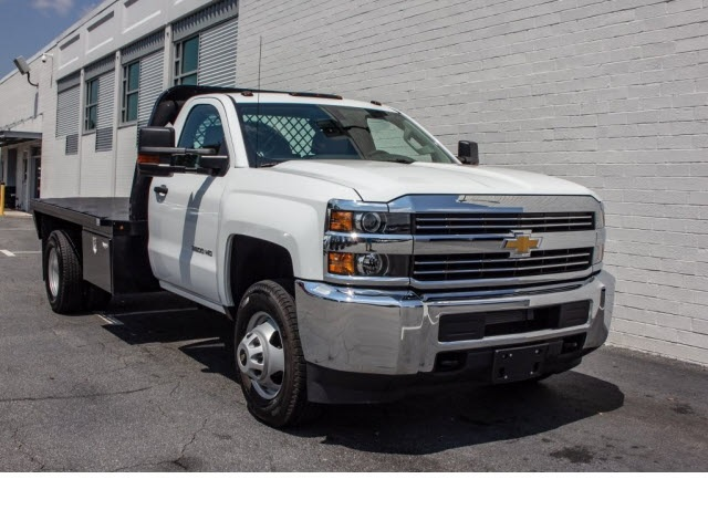2017 Silverado 3500 Regular Cab DRW 4x2,  Knapheide Platform Body #FK7663X - photo 11